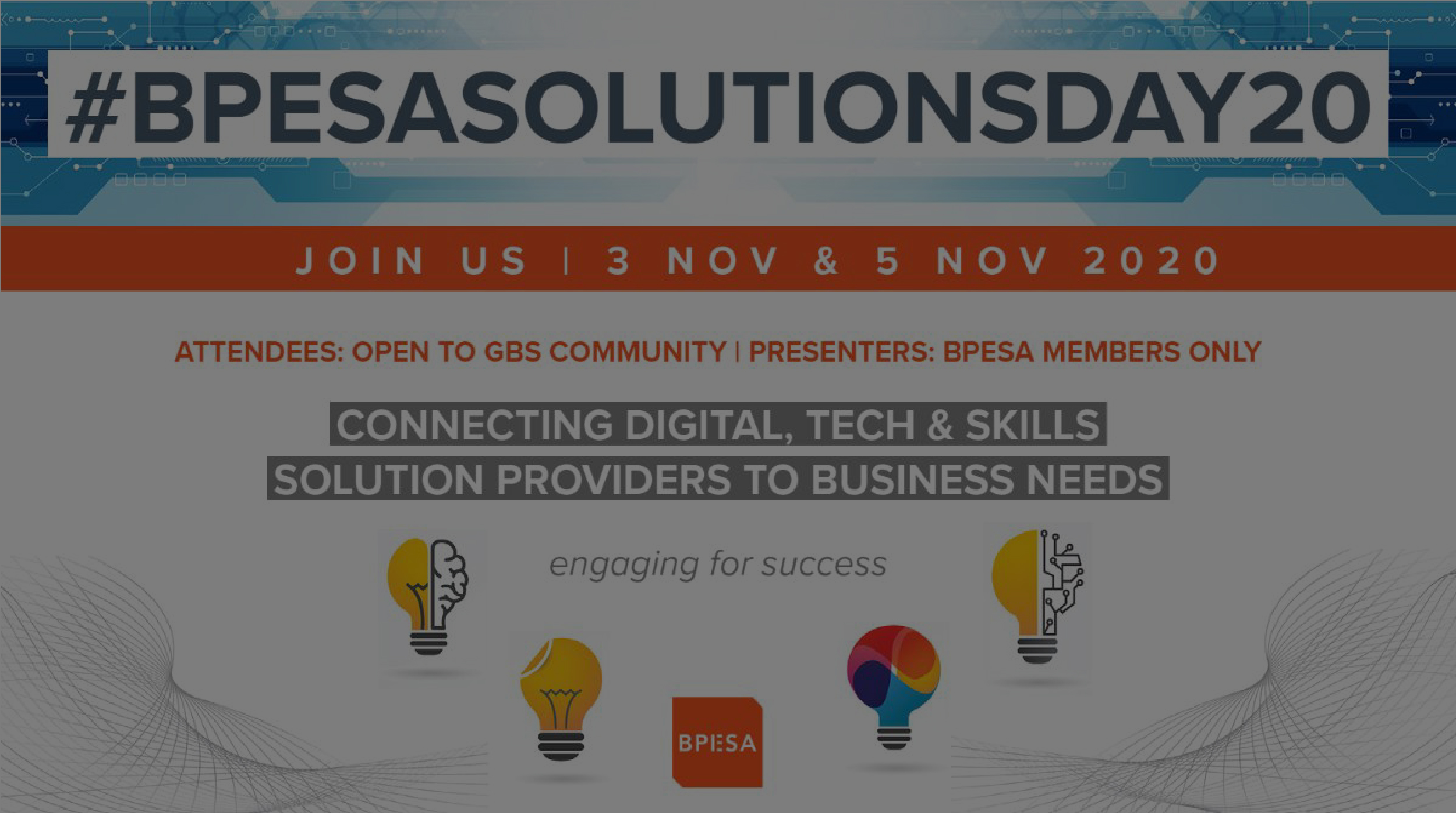 BPESA SOLUTIONS DAY 20 open for Registration